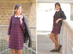 Tartan Dress By Leyre Benito