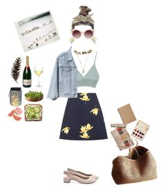 """Art Picnic"" by entipuf ❤ liked on Polyvore featuring Marni, Gap, Geox, NORO, Miss Selfridge, WithChic, Solow, eliurpi, Studio 36 and Muji"