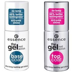 "Essence ""The Gel Top Coat"" und ""Base Coat"", um 2 Euro"