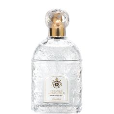 """Created in 2010 by Thierry Wasser, Cologne du Parfumeur is a modern eau de cologne with green, musky, smooth and crisp facets.  Its bottle bears a constellation of 69 bees, the symbol of the Empire and the emblem of the Guerlain family of """"Eaux"""". It can be customised upon request, hand-gilded and emblazoned with initials."""