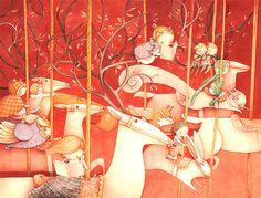 Carousel by Simona Cordero. So lovely