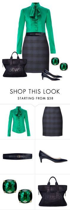 """Untitled #620"" by tishaod ❤ liked on Polyvore featuring L'Wren Scott, Akris, Maison Boinet, Zara, Kate Spade and 3.1 Phillip Lim"