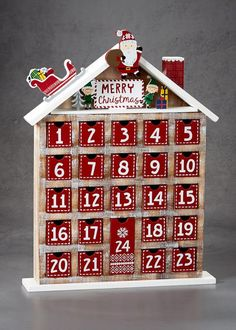 Packed with 24 festive activity ideas for seasonal treats like a festive breakfast in bed or a trip to the season's must-see movie, this fun advent calendar kit is designed for you to create memories with the special one in your life. Advent Calendar For Men, Christmas Tree Advent Calendar, Wooden Advent Calendar, Noel Christmas, Christmas Paper, Christmas Crafts, Advent House, Advent Box, Advent Calenders