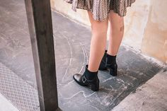 Channeling the discover our favorite booties of the season! Fall Winter, Autumn, Urban Chic, City Style, Every Woman, Bootie Boots, Booty, Seasons, Casual