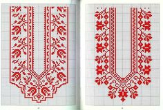 Heart Cross Stitch Pattern Over Afghan (Tunisian) - Craft & Patterns Cross Stitch Heart, Cross Stitch Borders, Cross Stitch Flowers, Counted Cross Stitch Patterns, Cross Stitch Designs, Cross Stitching, Cross Stitch Embroidery, Tatting Patterns Free, Embroidery Patterns Free