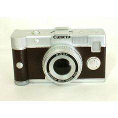 Cofre em formato de Câmera Retrô