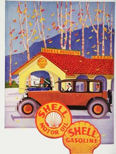 Vintage Shell ad
