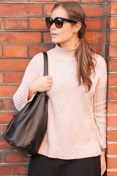 Rosa im Winter Skagen, Celine, Rosa Pullover, Josie Loves, Topshop, Fall Winter, Autumn, Turtle Neck, Sweaters
