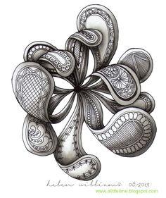 a little lime: paisley/flowers zentangle - Helen Williams Design, Geometric Cat, Doodle Art, Zentangle, Tangle Doodle, Art, Zentangle Art, Doodle Drawings, Zen Art