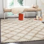 Beverley Ivory/Beige 5 ft. 1 in. x 7 ft. 6 in. Area Rug