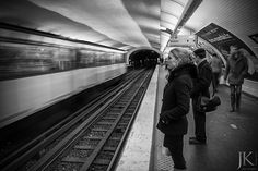 Streetfotografie, in der Metro in Paris   #Streetphotography #Paris