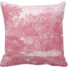 toile throw pillows - Google Search
