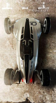 Peugeot XRC : Extreme Racing Car by Tiago Aiello