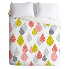 Heather Dutton Raining Gems Enchanted Duvet Cover | DENY Designs Home Accessories