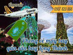 Phòng vé máy bay đi Singapore gần sân bay Long Thành Đồng Nai - Đại lý Tiger Air