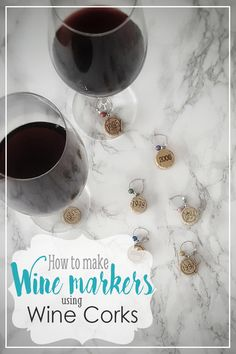 DIY Wine Glass Marke