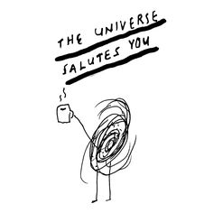 """The #Universe Salutes You"" by James Victore"