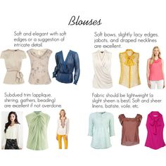 Soft Classic Blouses by oscillate on Polyvore