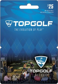 Topgolf - $25 Gift Card