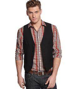 Alfani Big and Tall 4-Pocket Vest
