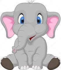 Baby elephant 39 s cute elephant cartoon clip art drawing - Fotos de elefantes bebes ...
