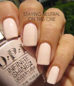 OPI Staying Neutral On This One swatch