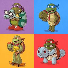 This makes TOO MUCH SENSE!  #IconsUnmasked series by @alexmdc!  #franklin #squirtle #pokemon #nickelodeon #leonardo #raphael #donatello #michelangelo #tmnt #turtles #turtle #ninjaturtles #awesome #cowabunga #pizzatime #heroesinahalfshell #dope #sick #epic #art #badass #beast #boss #ninja #mutant #awesome #amazing #teenagemutantninjaturtles #teenagemutantninjaturtle -------------------------------------------  CLICK LINK IN MY BIO  To Check Out Some EPIC Geek Items! by epiccomicpics