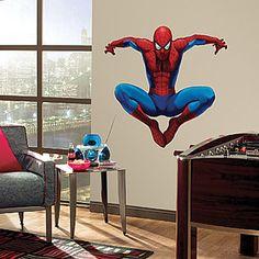 $31  NEW Spider-Man Giant Wall Decal: Amazing Lifelike Superhero Livens Up Any Room | eBay
