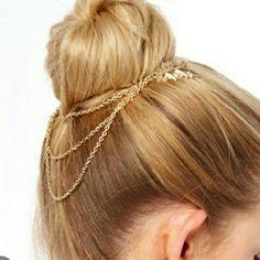 Beautiful Hair Cuff Chain