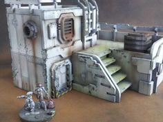 cnc workshop science fiction buildings - Google Search