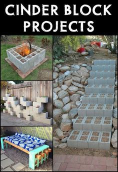 What Can You do With Leftover Cinder Blocks? Apparently There's a Lot You Can do With Them!