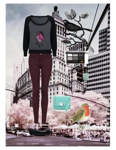 Robin by lj-case on Polyvore featuring polyvore, fashion, style, French Connection, Topshop, Repetto, Tiffany & Co., Bobbi Brown Cosmetics, Deborah Lippmann and clothing