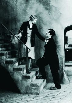 Still of Charles Chaplin in City Lights