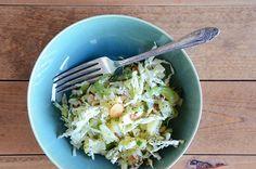 Pineapple-Almond Slaw Salad