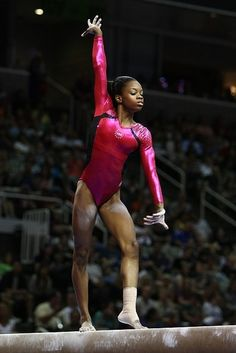 Gabrielle Douglas. Credit: Heather Maynez