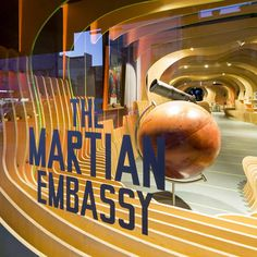 The Martian Embassy (Sydney Story Factory by LAVA Design)