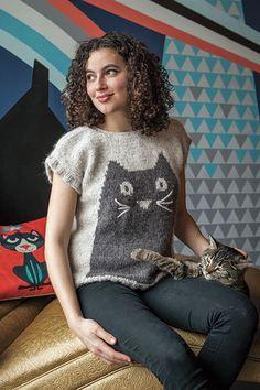 Professor Meow Sweater Pattern