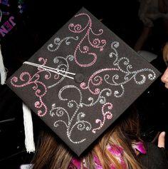 FIDM 2011 Graduation - Decorated Mortar Boards - Staples Center, Los Angeles, California by FIDM, via Flickr