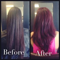 Red by Jess at Savante Salon.  For appointments call 480-503-4247