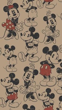 Mickey & Minnie.