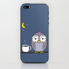 insomnia iPhone & iPod Skin by Vivi Nicolin - $15.00 - Buy here: http://society6.com/vivinicolin/insomnia-jGd_Phone-Skin