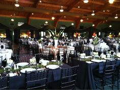 Fundraiser gala for a local high school. // By: Canards Catering and Event Production // canardscatering.com