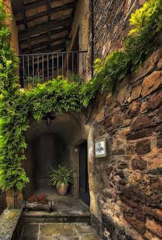 wish this was entry to my home! Travel Around The World, Around The Worlds, Mountainous Terrain, Hobbit Hole, Natural Park, Facade House, Old World, Outdoor Spaces, Monuments