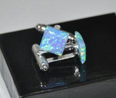 Opal Cufflinks... my birthstone