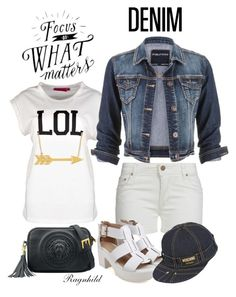 """""""Dagen antrekk / Today's Outfit"""" by ragnh-mjos ❤ liked on Polyvore featuring Boohoo, maurices, Moschino, contest, denim and outfitoftheday"""