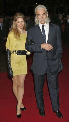 Sam Elliott and Cleo Rose Elliott - 'The Golden Compass' UK Premiere
