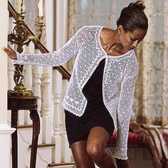 Long Sleeve Cardigan Crochet ePattern