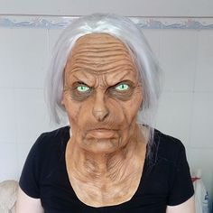 New product in the hood Granny Halloween ...   Check this out http://www.partyhardstore.com/products/granny-halloween-mask?utm_campaign=social_autopilot&utm_source=pin&utm_medium=pin