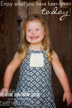 International Down Syndrome Coalition- IDSC: Meet Abby!