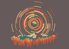 Check out the design The Geometry of Sunrise by Dianne Delahunty on Threadless